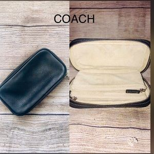 Coach Bags - Vintage Coach Nappa Leather Jewelry Case